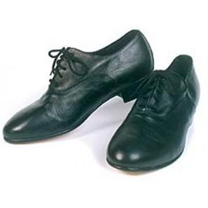 600 Stepschuh schwarz von Flying Dance - im Oxfordstil