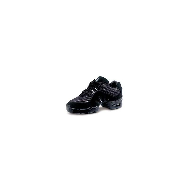 S0538L Boost DRT Dance Sneakers Schwarz-Silber von Bloch