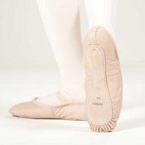 Ballettschuhe Kinder SO205G Bloch aus Leder mit ganzer Sohle