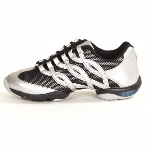 S0522L Bloch Twist Dancesneaker Silber