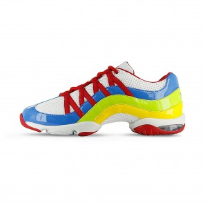 S0523L Bloch Wave Dancesneaker Multicolor Blue