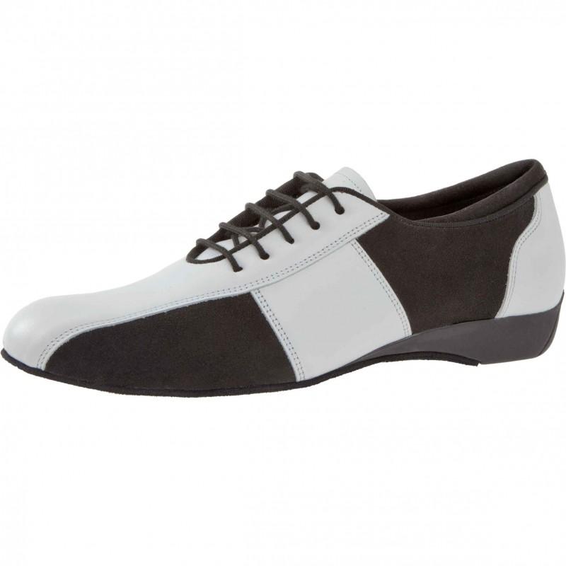 Standard-Latin Tanzschuh/Ballroom Sneaker Herren von Diamant schwarz-weiss