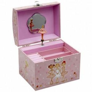 JB-22 Mädchen Schmuckbox mit Ballerinaspieluhr von Katz