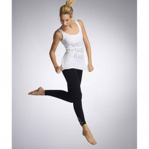 ASTRAL BALLETT Tank Top mit Print von Temp Danse