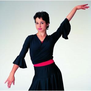 6829 Intermezzo Flamenco Wickeltop 3/4 Arm