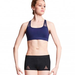 Z7685 Bloch Mesh Racer Back Crop Top