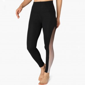 Beyond Yoga - Ommmbre Mesh High Waisted Midi Legging - SP3215