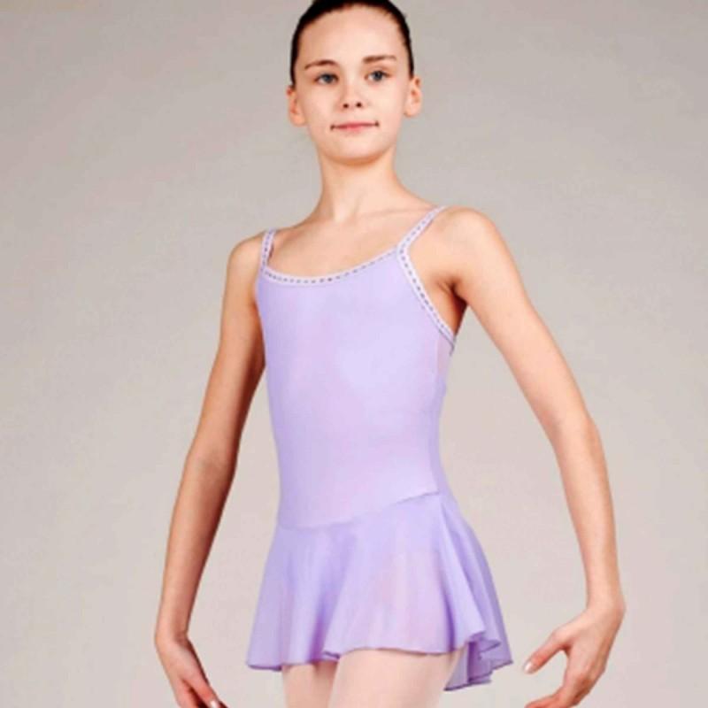 Olga WearMoi Kinder Tanzdress mit Spaghettiträgern