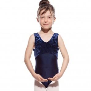 8903K Agiva Kinder Ballettbody - Breite Träger