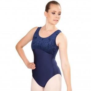 8903 Agiva Damen Ballettbody - Breite Träger