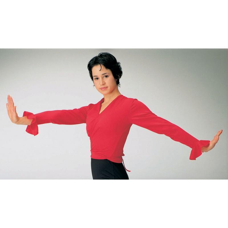 Intermezzo Flamenco Wickeltop Langarm