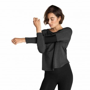CF7358 Beyond Yoga Easy Rider Moto Pullover