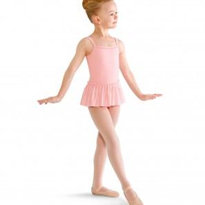 CL8247 Mädchen Bloch Tanzdress mit Perlenverzierung