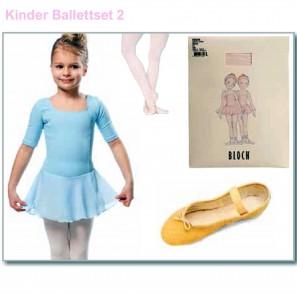 Kombipaket 2 - Tanzdress hellblau (Spezialangebot)