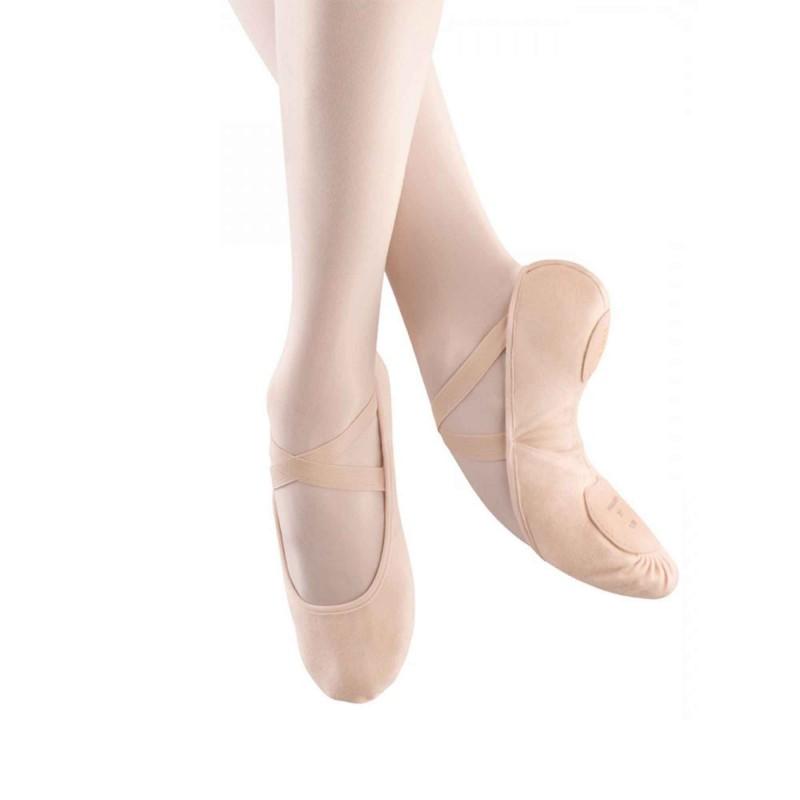 Ballettschuhe aus Stoff 271L mit geteilter Sohle von Bloch