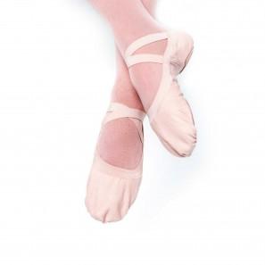 Ballettschuhe aus Leinen mit Splitsohle von Bloch