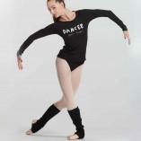 Langärmliges T-Shirt mit Logo von Temps Danse