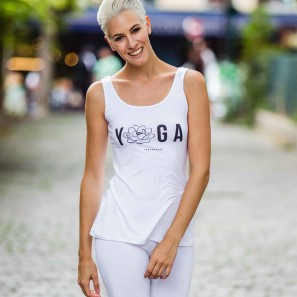 YOGA TANK TOP MIT PRINT VON TEMPS DANSE PARIS