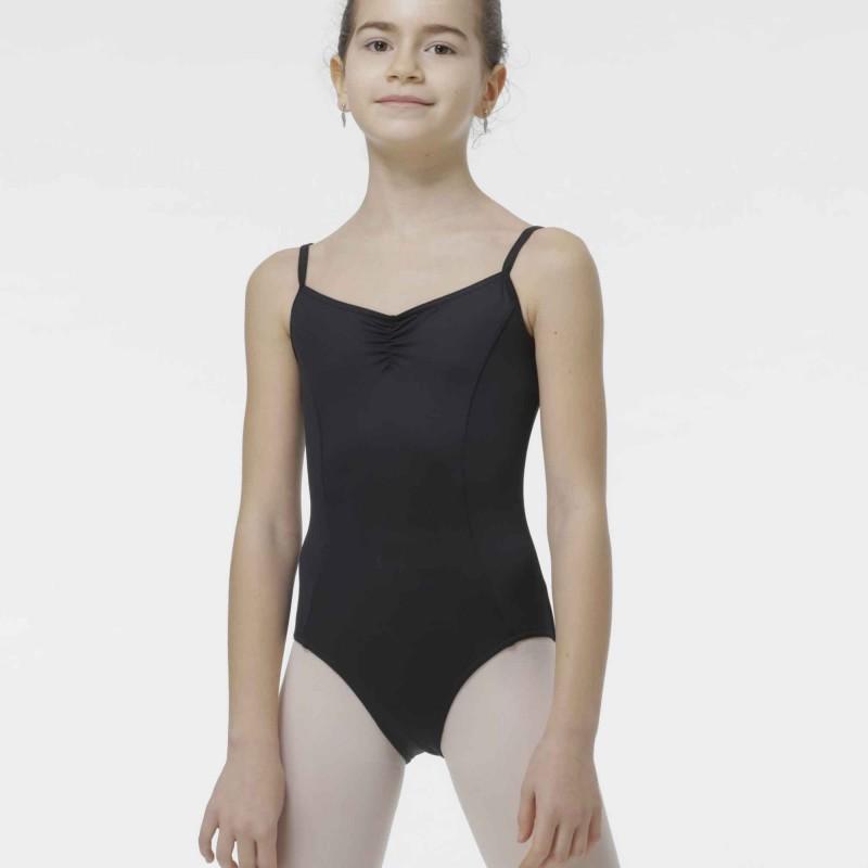 Kinder Ballett Body mit Spaghettiträgern Milano Temps Danse