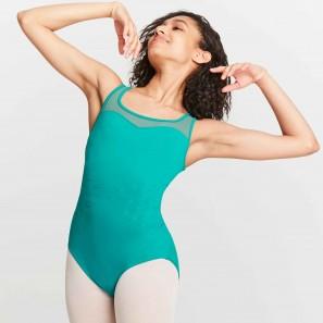 Ballettbody breite Träger Damen mit hübschem Décolleté M3056LM von Mirella
