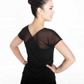Tanz Top Latin Kurzarm Intermezzo 6482