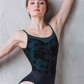 Ballett Body Camisole Grishko Bolshoi DA-1809M-FLOWERS