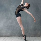 Ballett Tanztrikot mit Stehkragen Grishko Bolshoi DA-1803M
