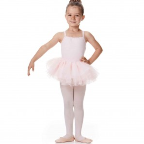 Ballettdress Tutu Kinder Spaghettiträger Bloch CL9565