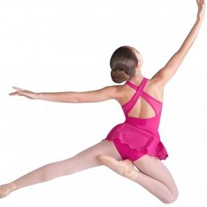 Ballettdress breite Träger Kinder CL9575 Bloch