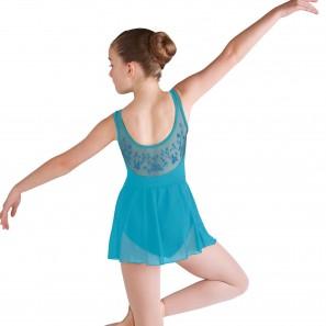 Ballett Trikot mit Tüll-Rock M1208C Bloch Mirella