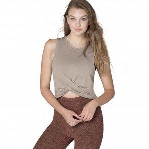 Cropped Tank Beyond Yoga OI4391