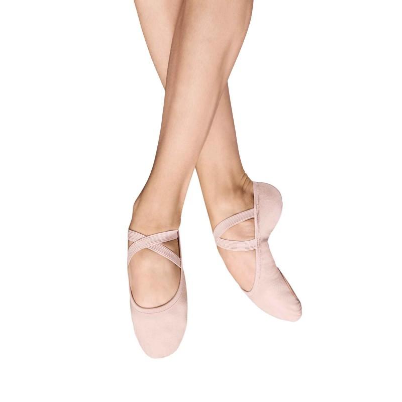 Ballettschuh Leinen-Stretch 284L Performa von Bloch