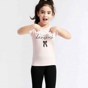 T-Shirt mit Aufschrift ANAIS JR NOED - Temps Danse Paris