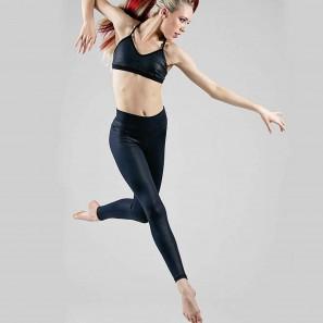 Tanz Leggings mit breitem Bund von Ilogear