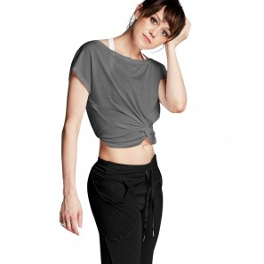 Kurzes Tanz Crop Tee Top FT5060 Bloch