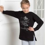 Langarm Kinder Sweatshirt DAD-1733 Grishko