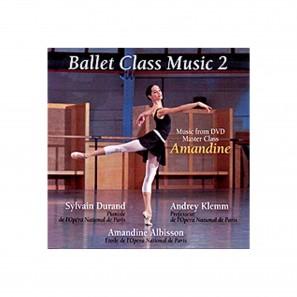 Amandine Ballet Class Music 2 CD – AK0006C