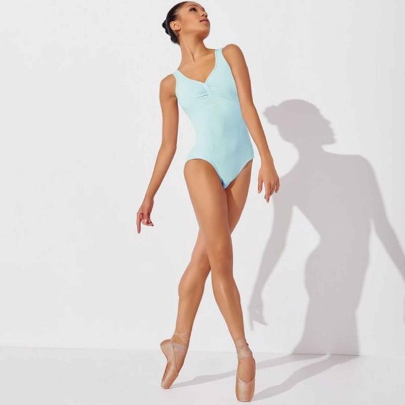 Balletttrikot breite Träger Capezio MC809W Diamond