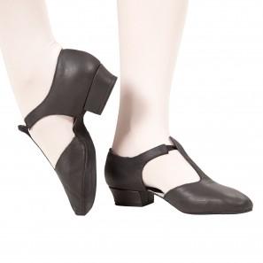 Griechische Sandale mit Wildledersohle von Bloch