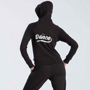 Hoodie mit Aufschrift Temps Danse