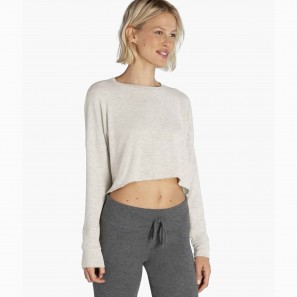 Brushed Up Cropped Pullover BH7544 BEYOND YOGA