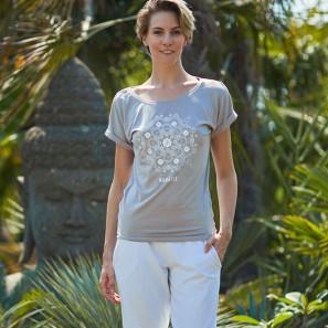 T-Shirt mit Namaste Logo von Temps Danse