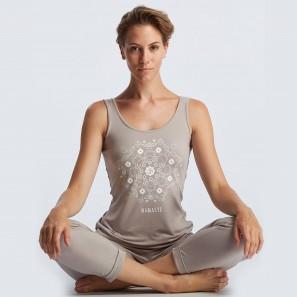 Yoga Tank Top mit Print Namaste Temps Danse
