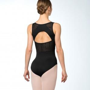 Ballettbody mit Cut-Out im Streifen-Design L9895 Bloch