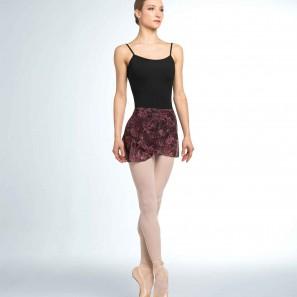 Ballett Wickelrock mit Blumenprint R9911 Bloch