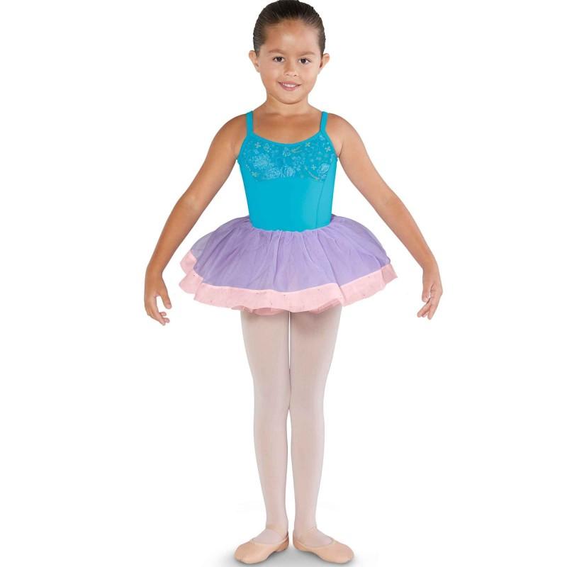 Ballettbody Kinder mit Prinzessnaht CL3577 Bloch