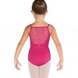 Ballett Body Mesh mit Stickereien für Mädchen CL3547 Bloch