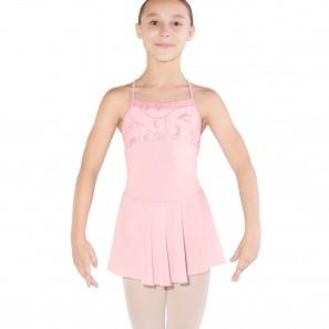 Tanzdress Kinder mit schimmerndem Print Mesh M1219C Bloch/Mirella