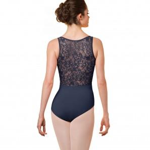 Ballettbody Damen Floral bestickt M3067LM Bloch/Mirella