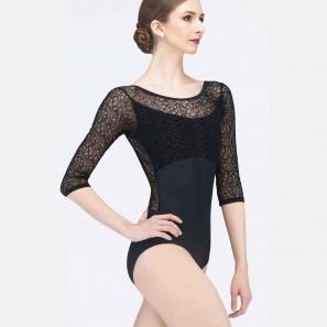 Ballett Tanztrikot mit ¾ Arm Rosalie von Wear Moi
